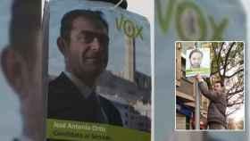 El condenado y fundador de Vox en Lérida, José Antonio Ortiz Cambray.