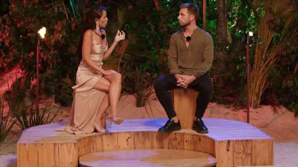 Tom Brusse y Melyssa en 'La isla de las tentaciones 2'
