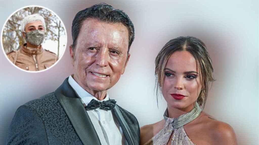 Gloria Camila, junto a su padre, José Ortega Cano, en un evento en Sevilla.
