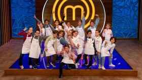 Los concursantes de la última edición de 'MasterChef Junior'.