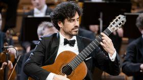 Pablo Sáinz-Villegas durante su actuación.