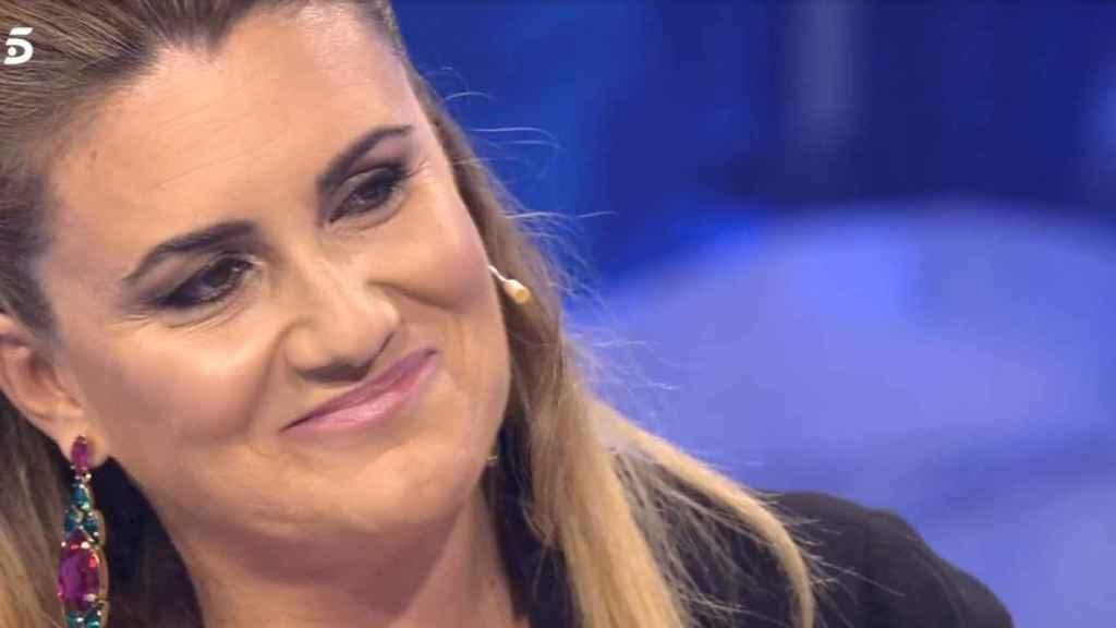 Carlota Corredera en el programa 'Volverte a ver' de Telecinco.