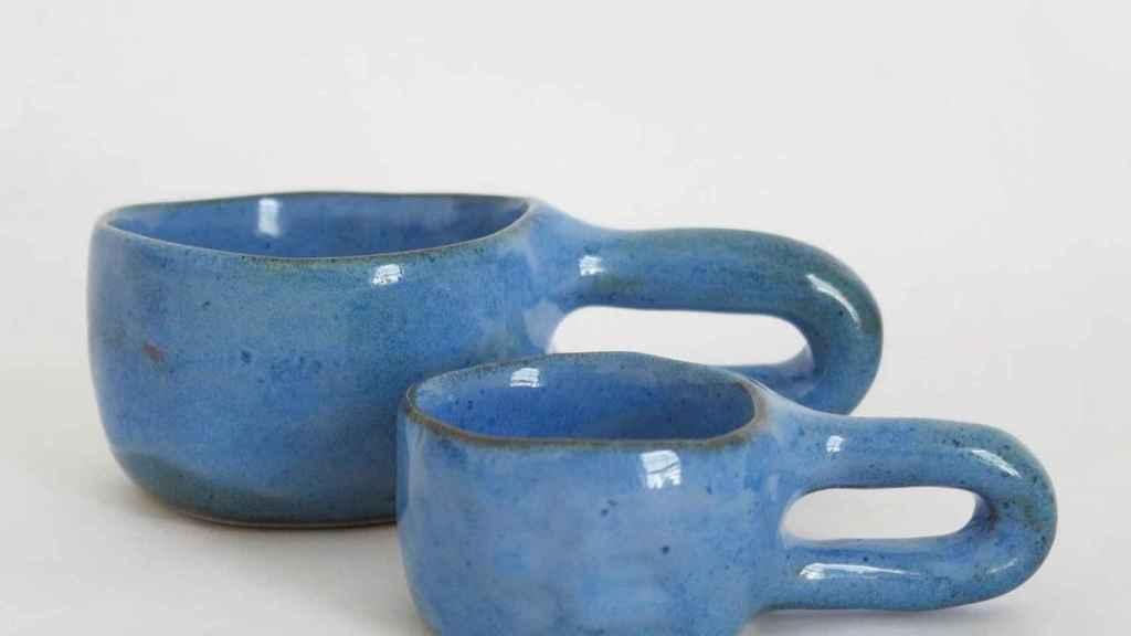 Para café regular y expreso de Jade Panton Ceramics.