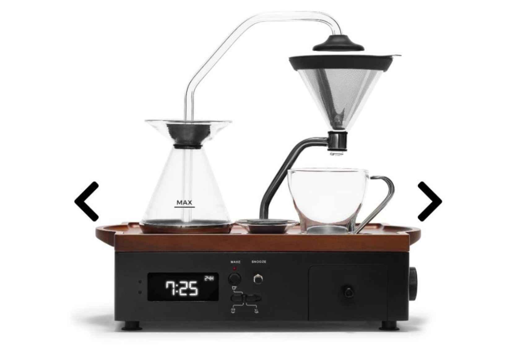 ¿Te gustaría que tu despertador te hiciese café?