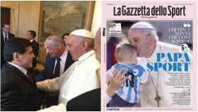 El Papa Francisco, en La Gazzetta dello Sport