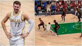 Doncic, contra los Miami Heat