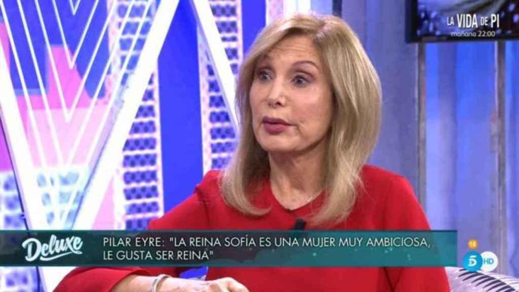 Pilar Eyre en 'Sábado Deluxe'.