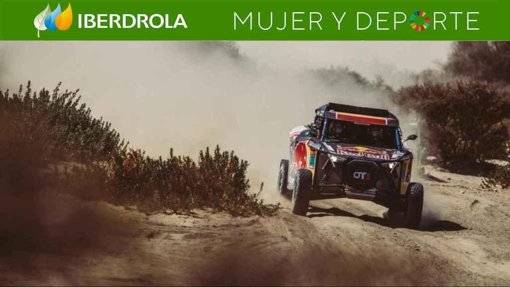 El OT3 de Cristina Gutiérrez en el Rally Dakar