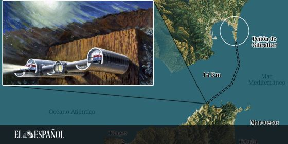 Unir Marruecos Con Gibraltar Con Un Túnel Bajo El Estrecho Una Jugada Que Dañaría A España