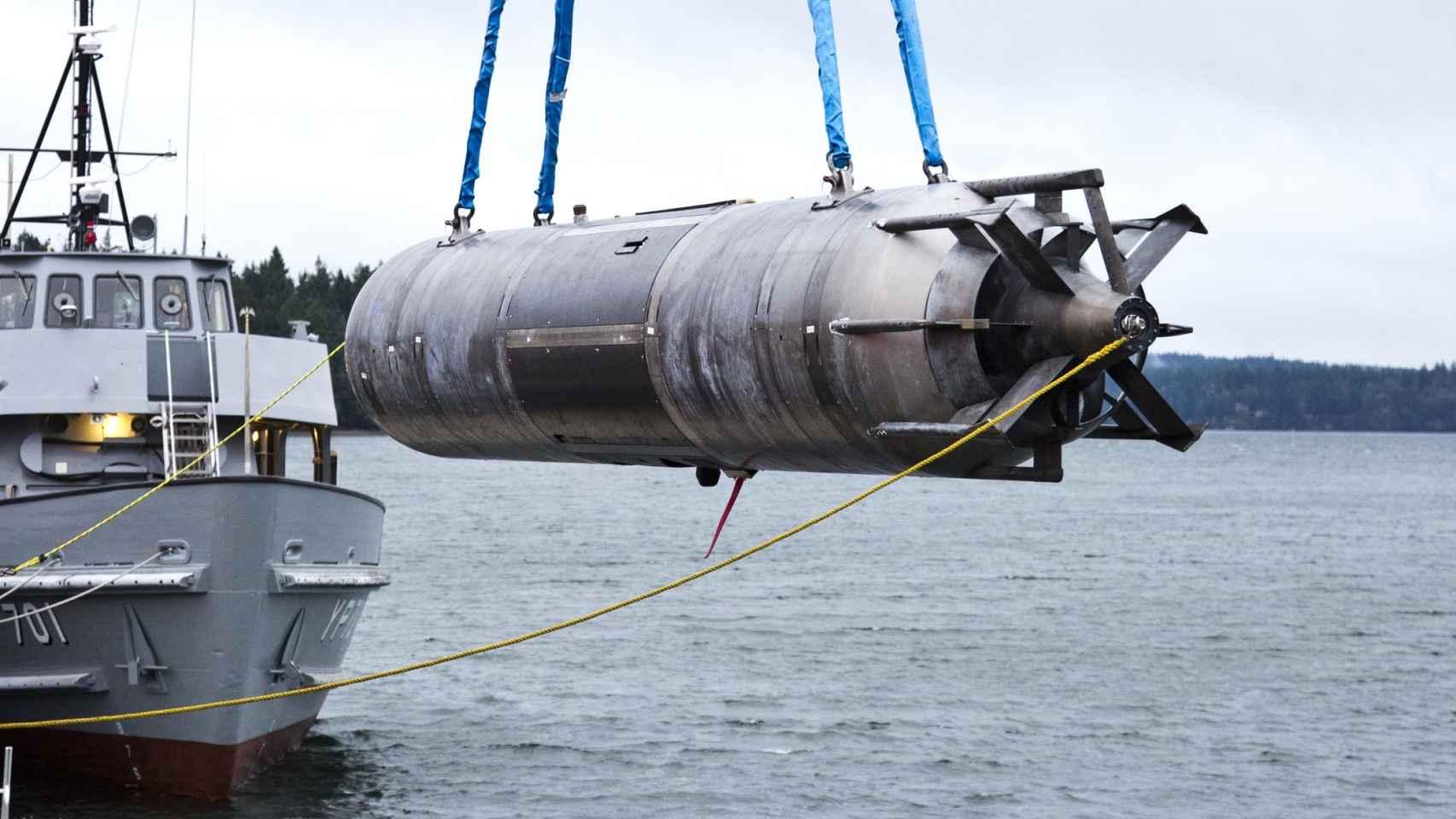 Prototipo de dron submarino