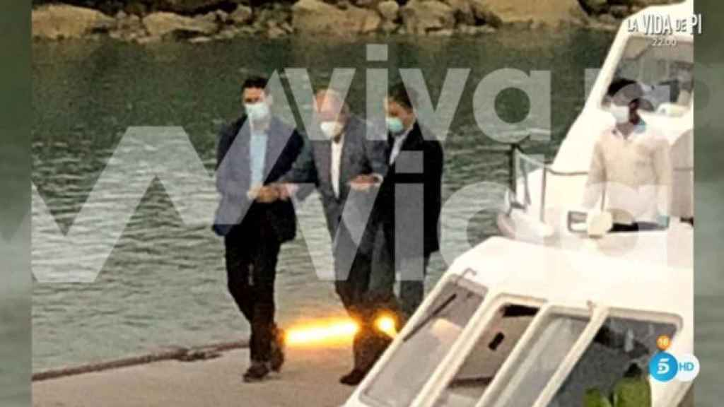 Juan Carlos I en Abu Dabi en las fotos de 'Viva la vida'.