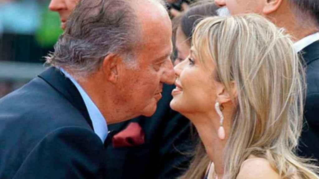 Juan Carlos y Corinna en 2007.