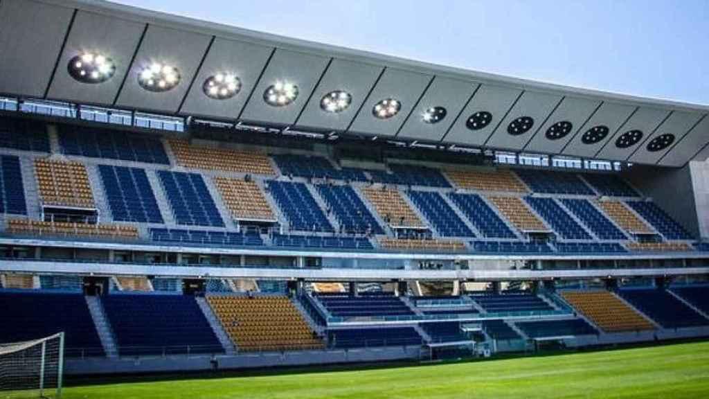 Estadio Municipal Ramón de Carranza.