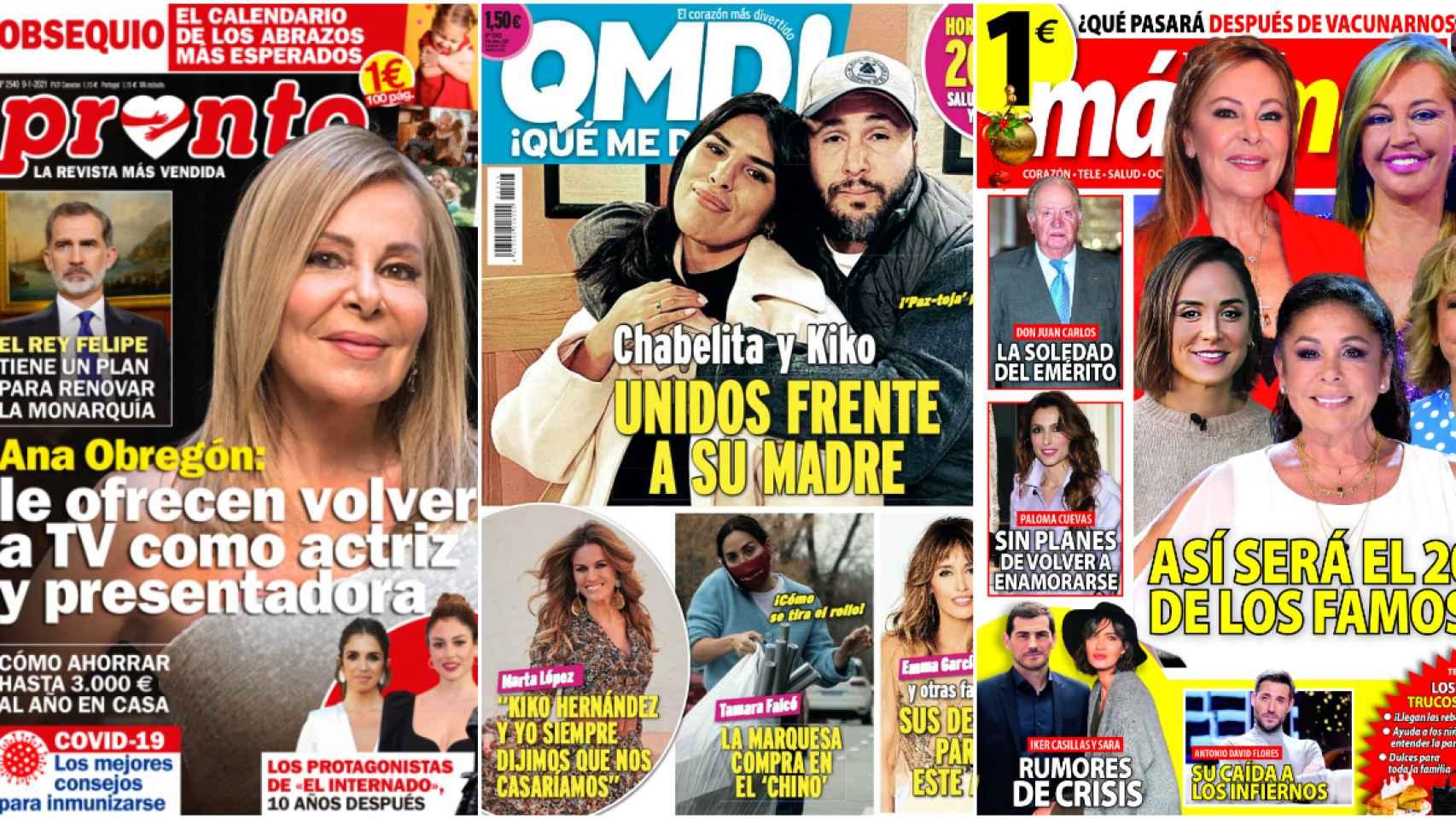 Kiosco rosa: los proyectos con los que Ana Obregón puede volver definitivamente a la televisión