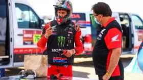 Joan Barreda tras la etapa 1 del Rally Dakar 2021