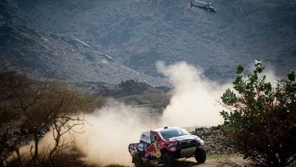 Al-Attiyah en el Rally Dakar 2021