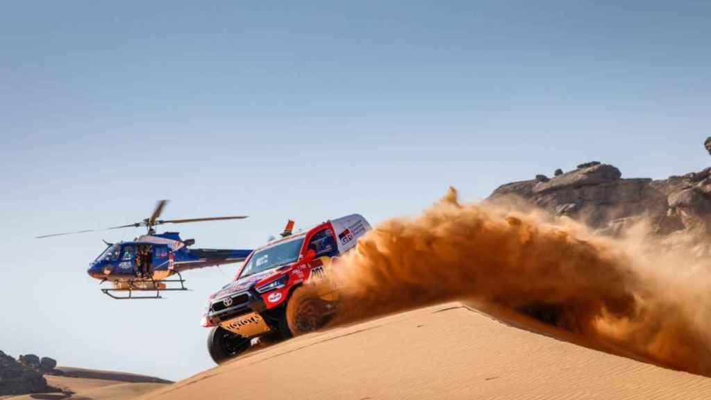 Al-Attiyah en la segunda etapa del Dakar 2021