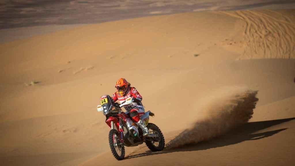Laia Sanz en el Rally Dakar 2021