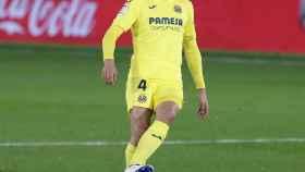 Pau Torres, durante un partido con el Villarreal