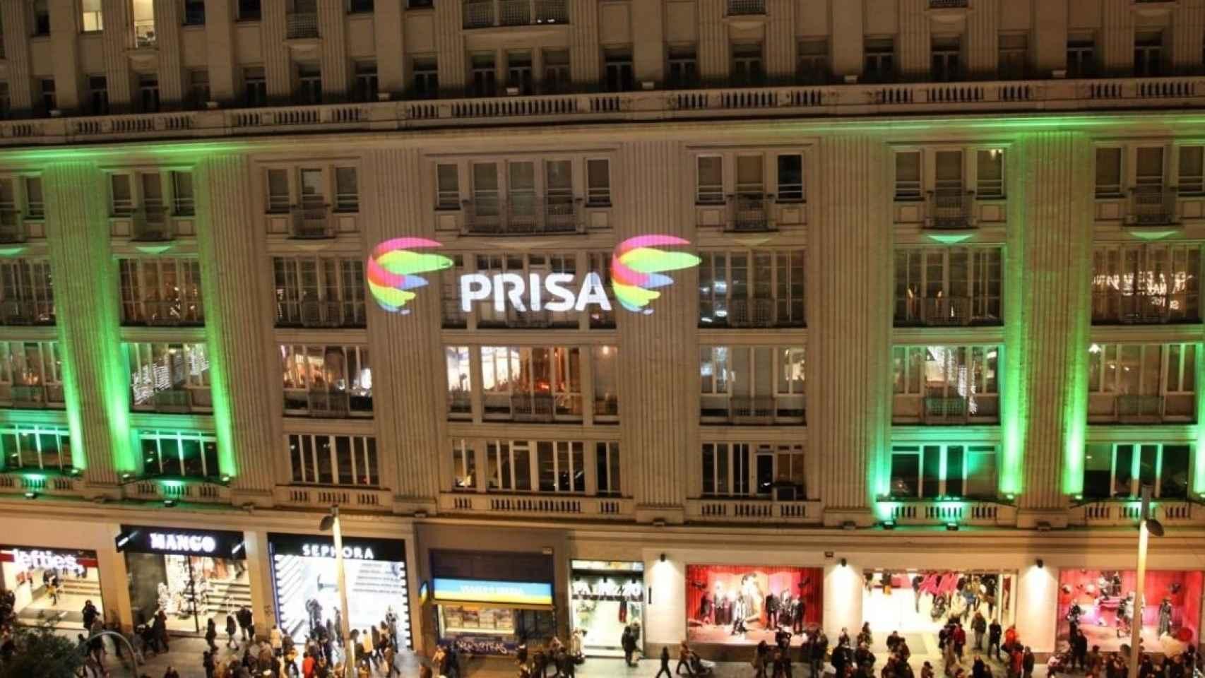Una de las sedes del grupo Prisa, en el centro de Madrid.