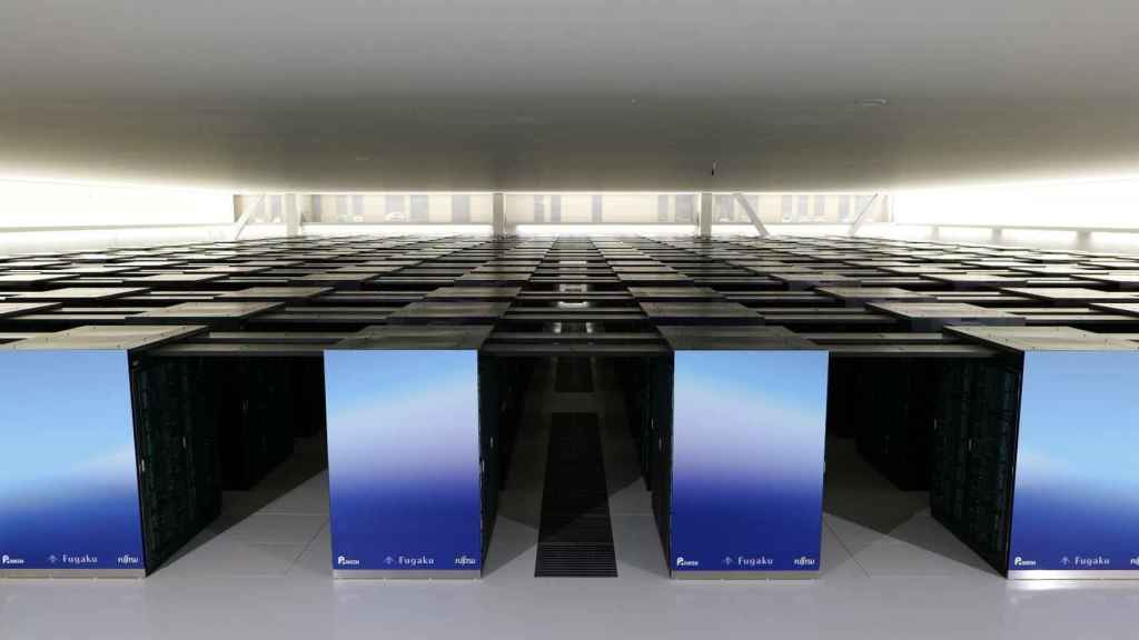 Imagen de Fugaku, el supercomputador más rápido del mundo.
