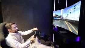 La nueva pantalla de LG se puede convertir en curva para jugar