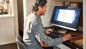 Usuario de Windows 10 en un ordenador