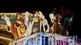 Imagen de la cabalgata de Reyes de 2020 en Pamplona