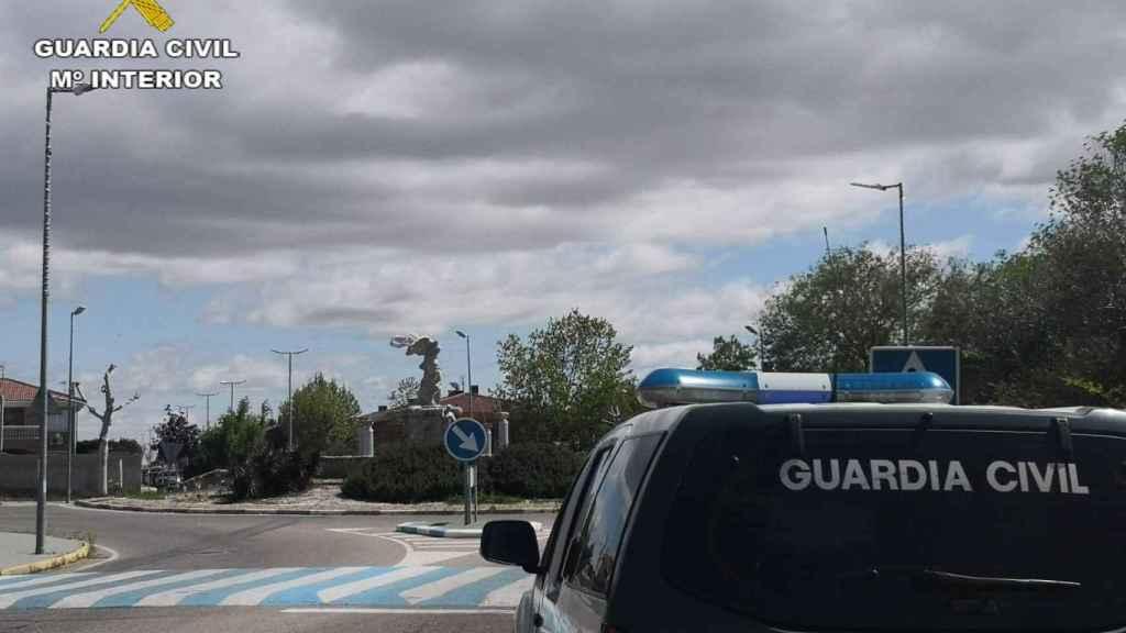 Un vehículo de la Guardia Civil.