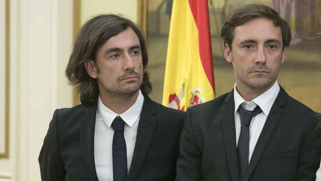 Pablo y Gelete Nieto en imagen de archivo.