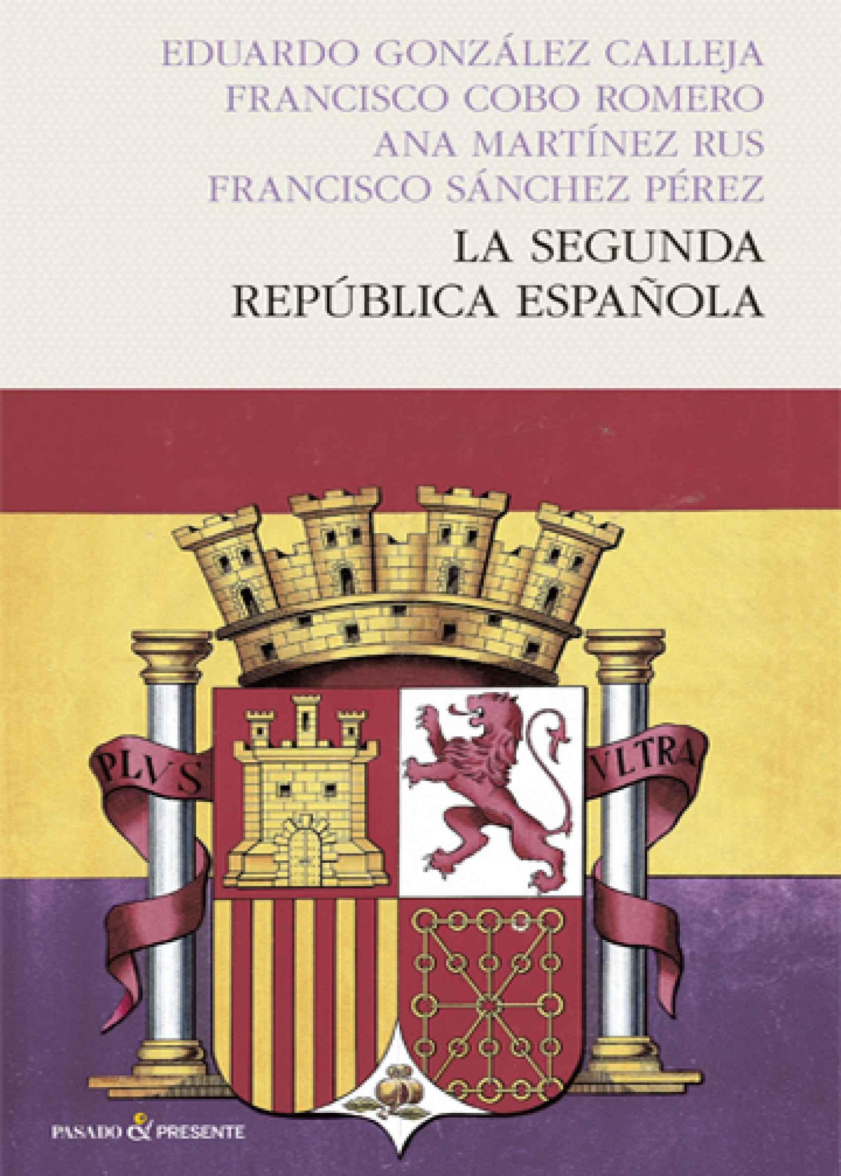 Portada de 'La Segunda República española'.