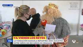 El rey Gaspar en 'Espejo Público' (Antena 3)