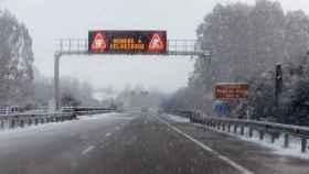 Autovía A-8 en Abadín, Lugo.