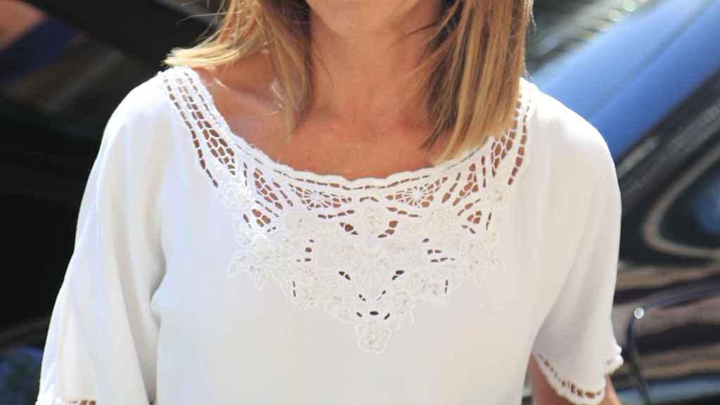María Patiño se ha convertido en uno de los rostros con más presencia en Telecinco.
