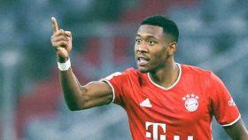 David Alaba, con el Bayern Múnich