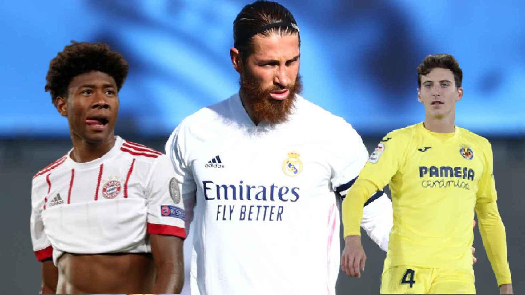 Alaba y Pau Torres: la dos opciones del Real Madrid si Ramos no renueva