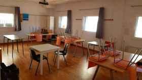 Una de las aulas del centro de día de Castellar del Vallés (Barcelona).
