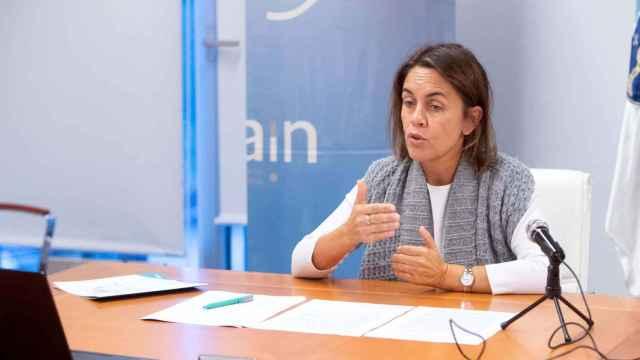 La directora de la Agencia Gallega de Innovación (Gain), Patricia Argerey Vilar.