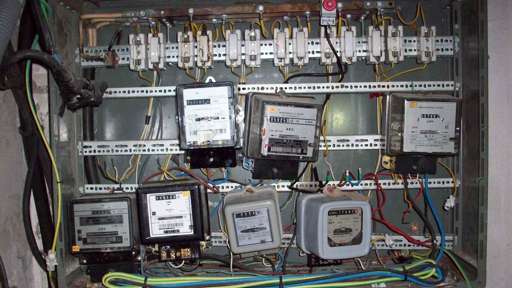 Imagen de distintos tipos de fraude detectados en la red de distribución.