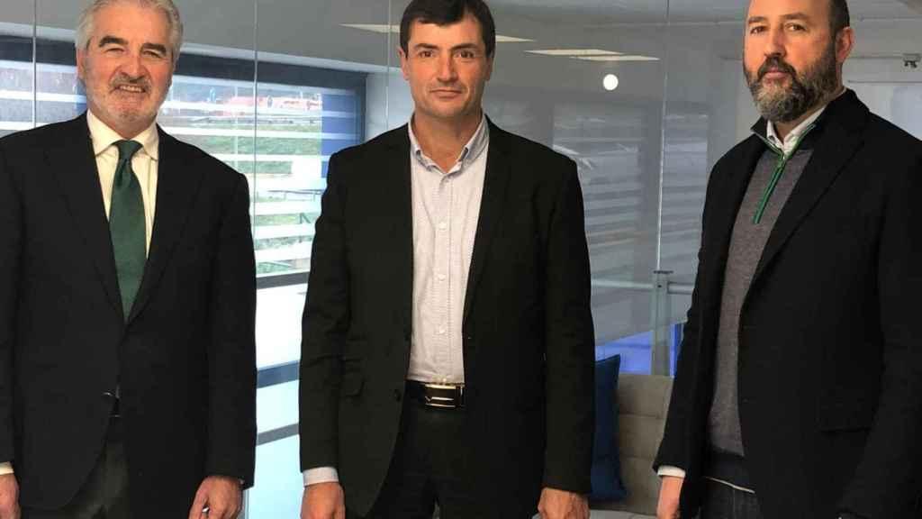 José Joaquín Martínez Sieso, Clemente Fernández y José Alfonso Murat