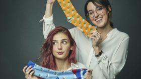 Esther y María, las dos hermanas que han creado MyEcoSide, la empresa de calcetines.
