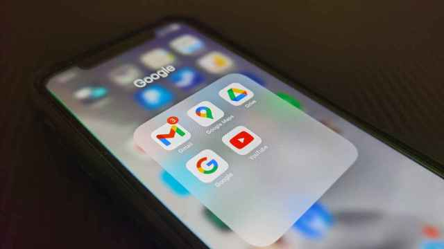 Apps de Google en un iPhone