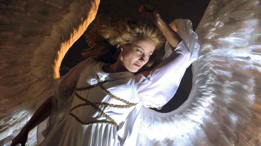 Emma Thompson en 'Angels in America'.