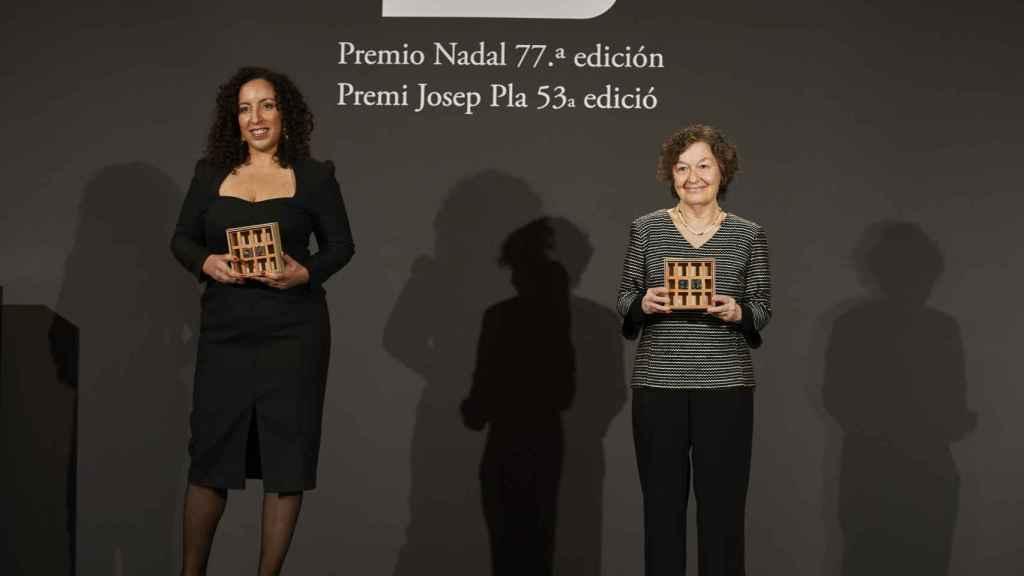 Najat El Hachmi y María Barbal.