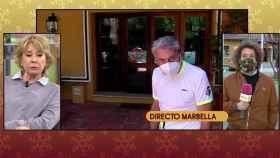 'Sálvame' ha informado sobre el preocupante estado de salud de Manolo Santana.