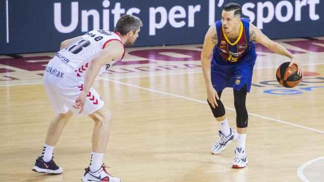 Thomas Heurtel, con el Barcelona