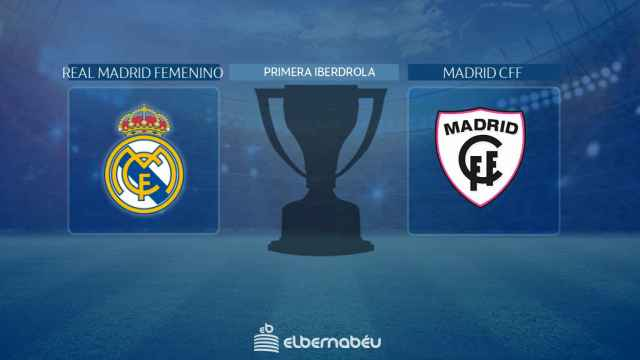 Streaming en directo | Real Madrid Femenino - Madrid CFF (Primera Iberdrola)