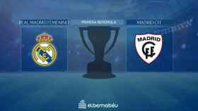 Streaming en directo | Real Madrid Femenino - Madrid CFF (Primera Iberdrola)