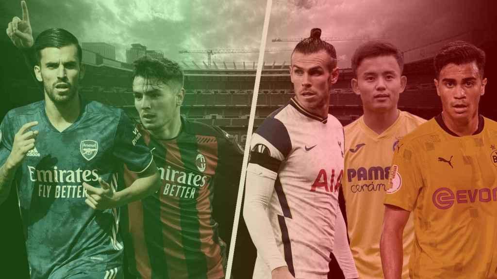 Los cedidos del Real Madrid
