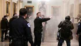 El asalto al Capitolio de Estados Unidos.
